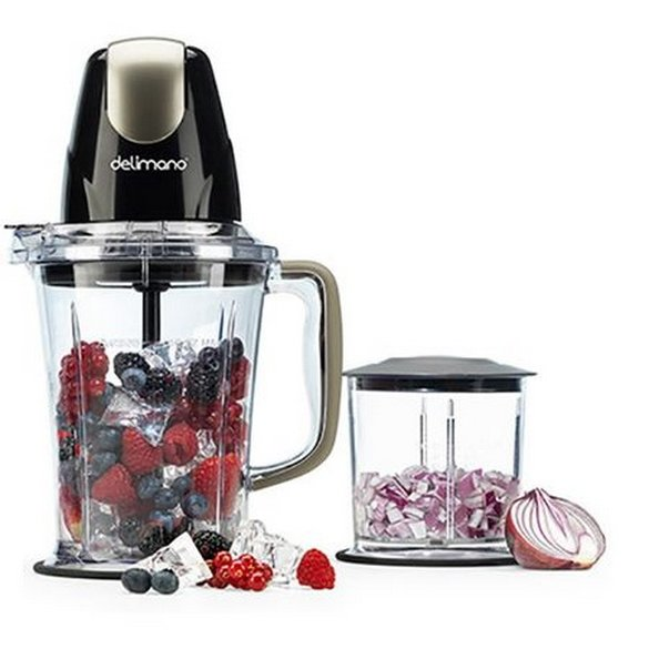 Blender 2 in 1 Delimano Astoria, 400W, 1.5L / 0.5L